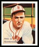 1934 Diamond Stars Reprint #62  Fred M. Frankhouse  Front Thumbnail