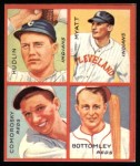 1935 Goudey 4-in-1 Reprint #6 B Willis Hudlin / George Myatt / Adam Comorosky / Jim Bottomley  Front Thumbnail