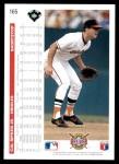 1992 Upper Deck #165  Cal Ripken Jr.  Back Thumbnail
