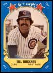 1981 Fleer Star Stickers #29  Bill Buckner   Front Thumbnail
