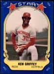 1981 Fleer Star Stickers #60  Ken Griffey   Front Thumbnail