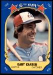 1981 Fleer Star Stickers #73  Gary Carter   Front Thumbnail