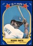 1981 Fleer Star Stickers #87  Reggie Smith   Front Thumbnail