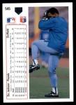 1991 Upper Deck #545  Bo Jackson  Back Thumbnail