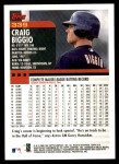 2000 Topps #339  Craig Biggio  Back Thumbnail