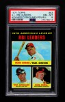 1971 Topps #63   -  Tony Conigliaro / Frank Howard / Boog Powell AL RBI Leaders  Front Thumbnail