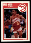 1989 Fleer #6  Spud Webb  Front Thumbnail