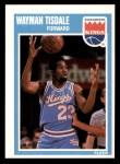 1989 Fleer #139  Wayman Tisdale  Front Thumbnail