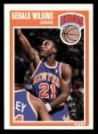 1989 Fleer #107  Gerald Wilkins  Front Thumbnail