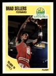 1989 Fleer #24  Brad Sellers  Front Thumbnail
