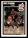 1989 Fleer #84  Rory Sparrow  Front Thumbnail