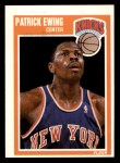 1989 Fleer #100  Patrick Ewing  Front Thumbnail