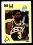 1989 Fleer #146  Dale Ellis  Front Thumbnail