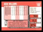 1989 Fleer #132  Buck Williams  Back Thumbnail