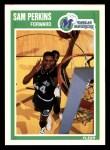 1989 Fleer #36  Sam Perkins  Front Thumbnail