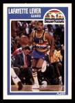 1989 Fleer #41  Lafayette Lever  Front Thumbnail