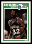 1989 Fleer #37  Herb Williams  Front Thumbnail