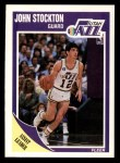 1989 Fleer #156  John Stockton  Front Thumbnail