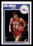 1989 Fleer #116  Mike Gminski  Front Thumbnail