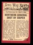 1965 A & BC England Civil War News #62   The General Dies Back Thumbnail