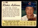 1962 Jello #186  Richie Ashburn  Front Thumbnail