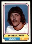 1975 O-Pee-Chee WHA #9  Bryon Baltimore  Front Thumbnail