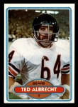 1980 Topps #519  Ted Albrecht  Front Thumbnail