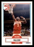 1990 Fleer #3  Moses Malone  Front Thumbnail