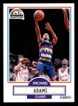 1990 Fleer #46  Michael Adams  Front Thumbnail