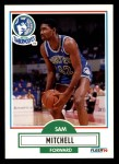 1990 Fleer #114  Sam Mitchell  Front Thumbnail
