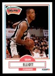 1990 Fleer #171  Sean Elliott  Front Thumbnail