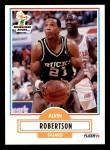 1990 Fleer #109  Alvin Robertson  Front Thumbnail