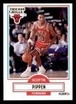 1990 Fleer #30  Scottie Pippen  Front Thumbnail