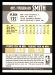 1990 Fleer #135  Otis Smith  Back Thumbnail