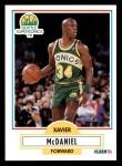 1990 Fleer #179  Xavier McDaniel  Front Thumbnail