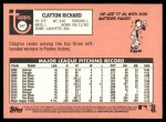 2018 Topps Heritage #547  Clayton Richard  Back Thumbnail