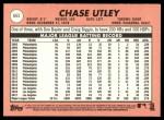 2018 Topps Heritage #665  Chase Utley  Back Thumbnail