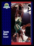 1991 Fleer #192  Shawn Kemp  Front Thumbnail