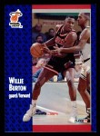 1991 Fleer #105  Willie Burton  Front Thumbnail