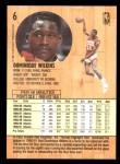 1991 Fleer #6  Dominique Wilkins  Back Thumbnail