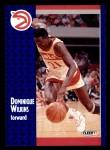 1991 Fleer #6  Dominique Wilkins  Front Thumbnail