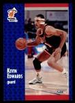 1991 Fleer #108  Kevin Edwards  Front Thumbnail