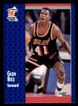 1991 Fleer #111  Glen Rice  Front Thumbnail