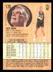 1991 Fleer #120  Jack Sikma  Back Thumbnail