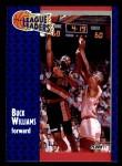1991 Fleer #224   -  Buck Williams League Leader Front Thumbnail