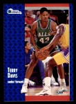 1991 Fleer #267  Terry Davis  Front Thumbnail