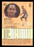 1991 Fleer #287  Alton Lister  Back Thumbnail