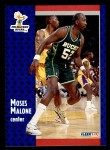 1991 Fleer #315  Moses Malone  Front Thumbnail