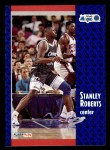 1991 Fleer #331  Stanley Roberts  Front Thumbnail