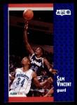 1991 Fleer #333  Sam Vincent  Front Thumbnail
